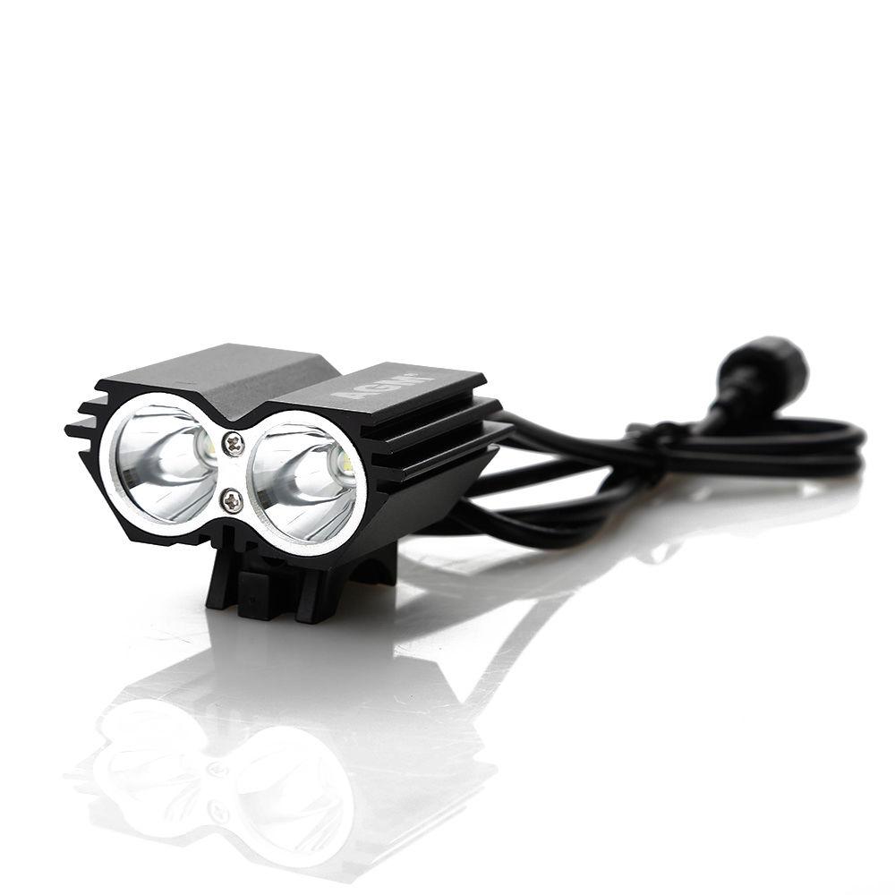 3000LM CREE XM L X2 Fahrradlampe 2 LED U2
