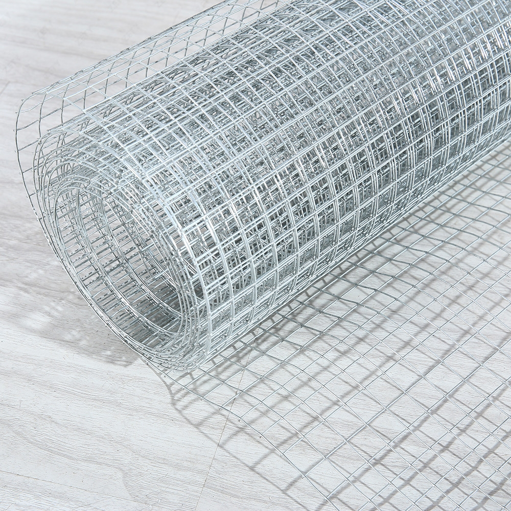Galvanized metal hardware cloth welded wire mesh fencing