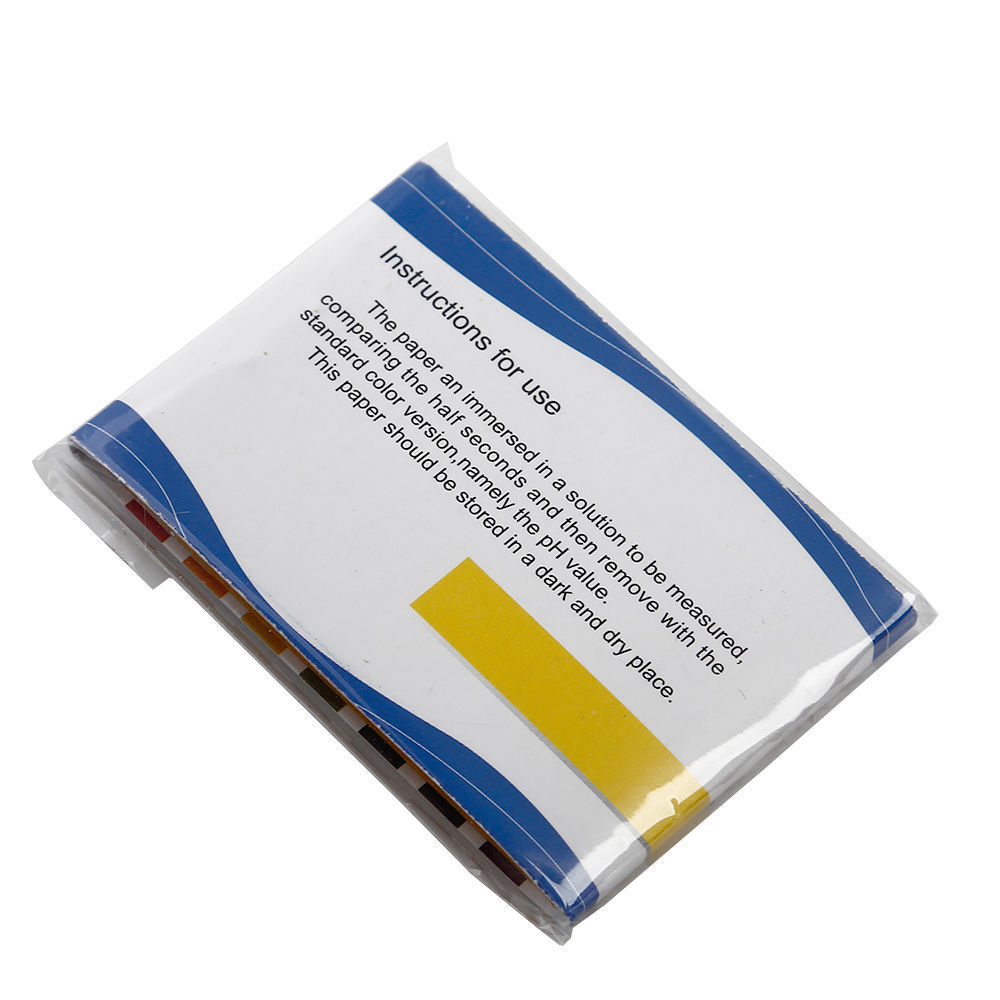 80stk 1 14 ph wert teststreifen test strip indikator papier messung wassertest ebay. Black Bedroom Furniture Sets. Home Design Ideas