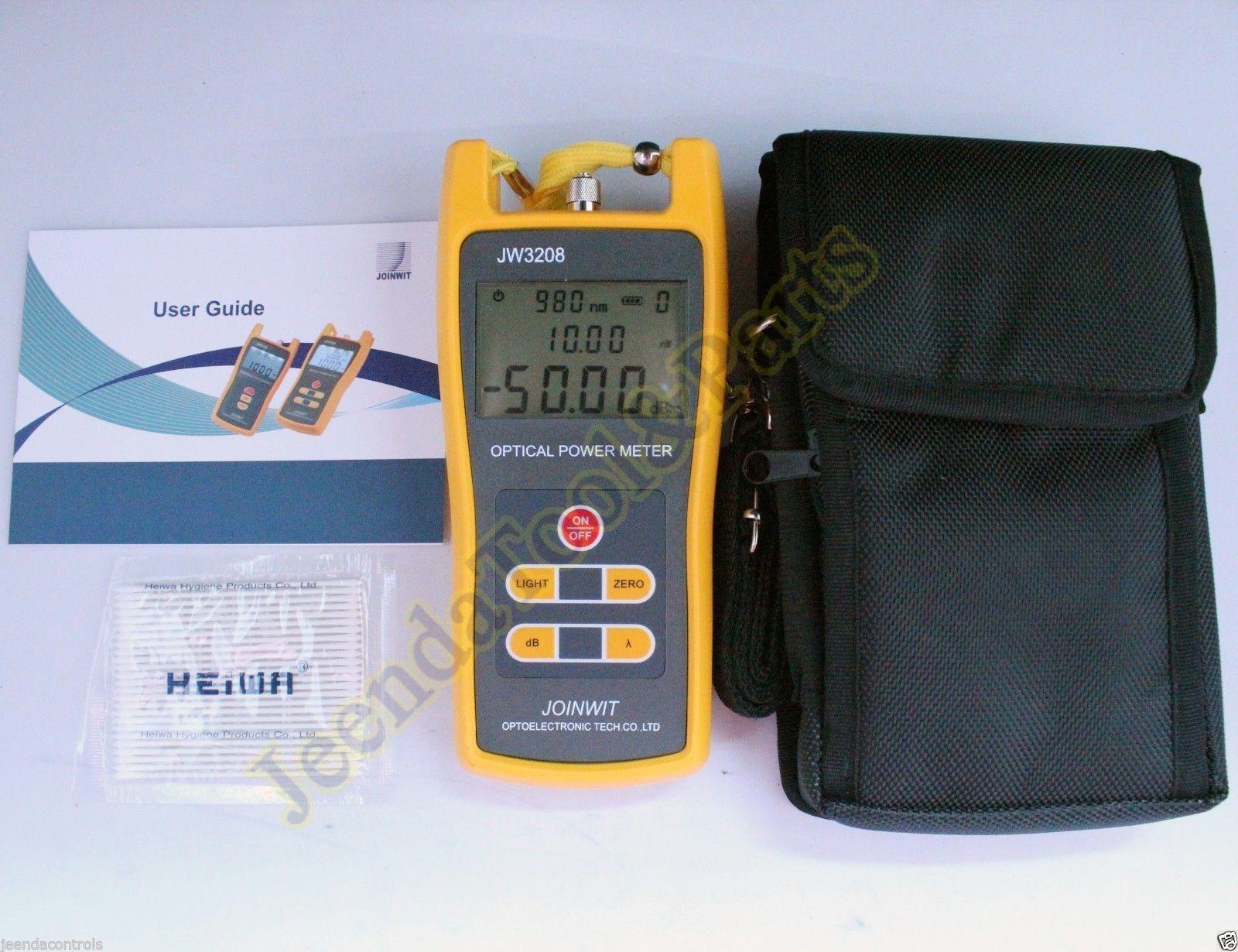 Handheld Laser Power Meters : Handheld optical power meter jw c laser fiber optic