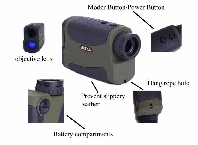 Laser Entfernungsmesser Long Range : Long range laser entfernungsmesser geschwindigkeitsmesser für