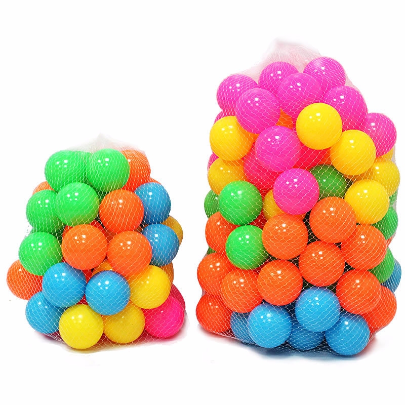 Plastic Toy Balls : Colorful ball pit balls fun soft plastic