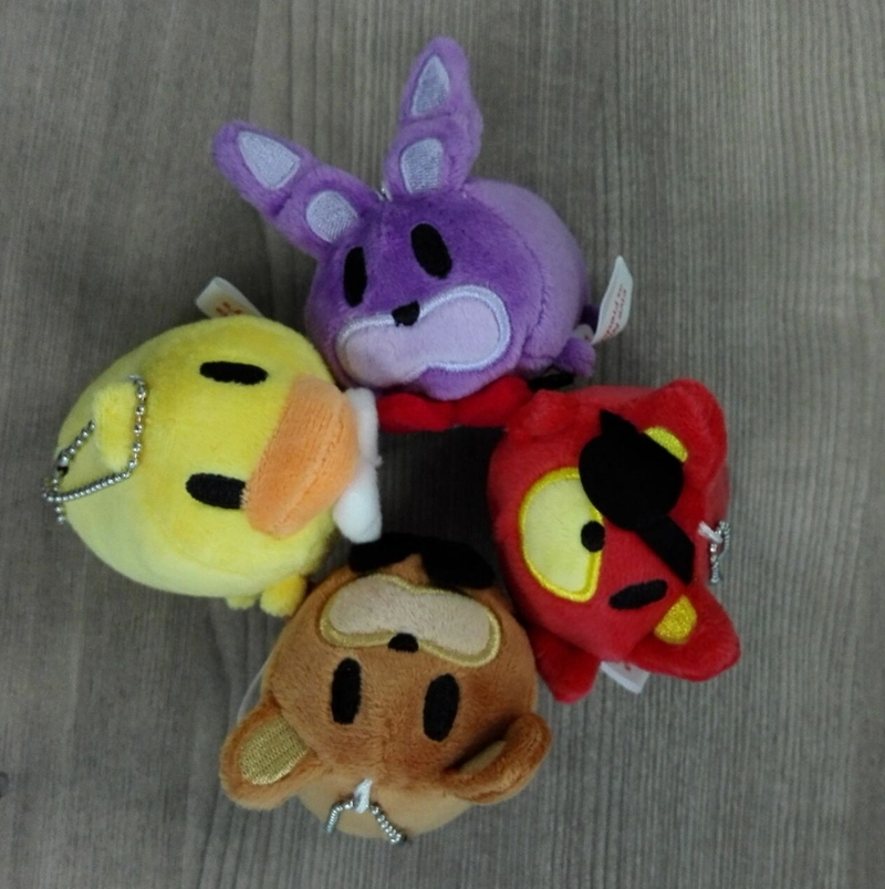 FNAF Five Nights At Freddy's FREDDY & FOXY & Bonnie &Chica