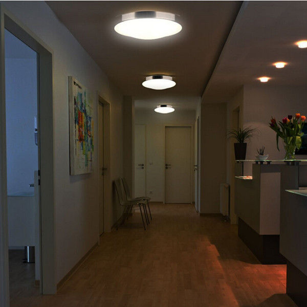 Deckenlampe wohnzimmer modern deckenlampe leuchte silber for Deckenlampe wohnzimmer modern