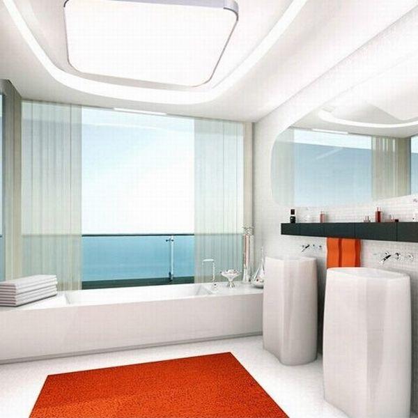 18w kaltwei led deckenleuchte badleuchte deckenlampe wohnzimmer schlafzimmer ebay. Black Bedroom Furniture Sets. Home Design Ideas