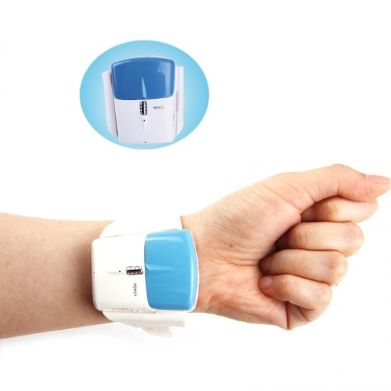 New Infrared Anti Snore Wristband Watch Stop Snoring Sleep