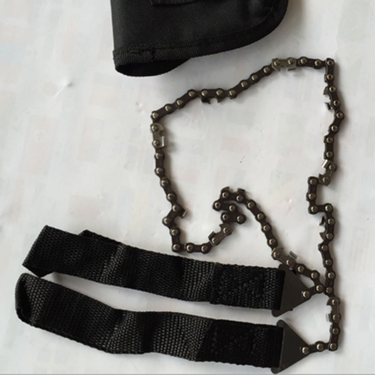how to make rope chain saw