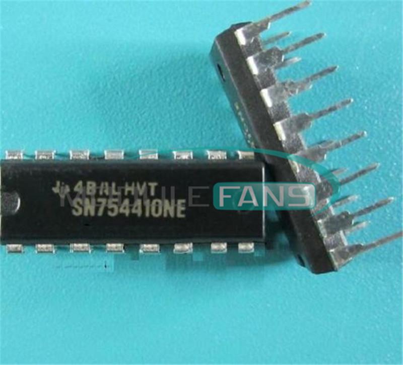 10PCS SN754410 SN754410NE IC HALF-H DRVR QUAD 16-DIP IC