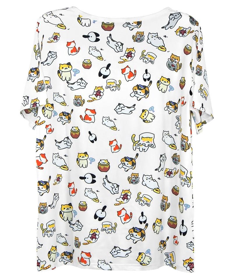 Neko Atsume Rare Cats T-shirt Vest Tank Top Men Women Unisex 2468