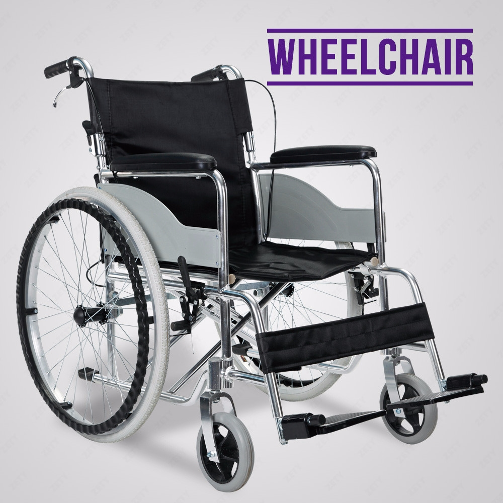Ultra lightweight luxury aluminium folding self propelled Luxury wheelchairs