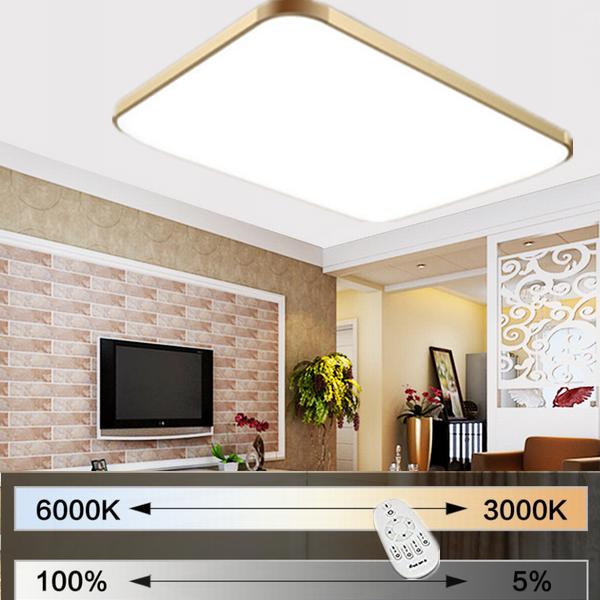 36w 48w led deckenleuchte badleuchte k che deckenlampe. Black Bedroom Furniture Sets. Home Design Ideas