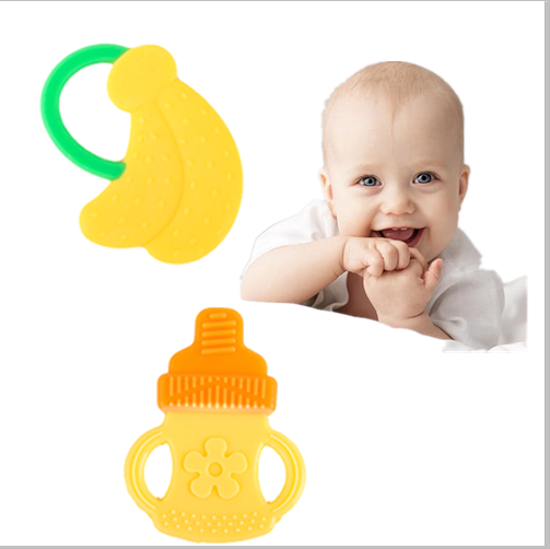Baby Teething Toys : Pcs little baby toy teether teething ring babies