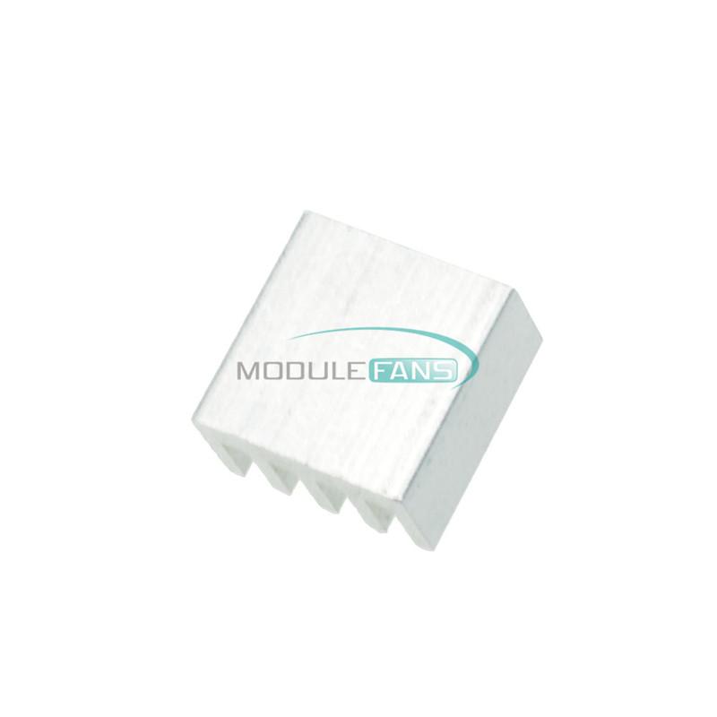 100pcs Aluminum 8.8x8.8x5MM Heat Sink for StepStick A4988 Chip IC LED Power