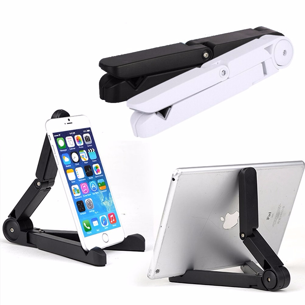 Fold Up Adjustable Desk Holder Mount Stand For Phones