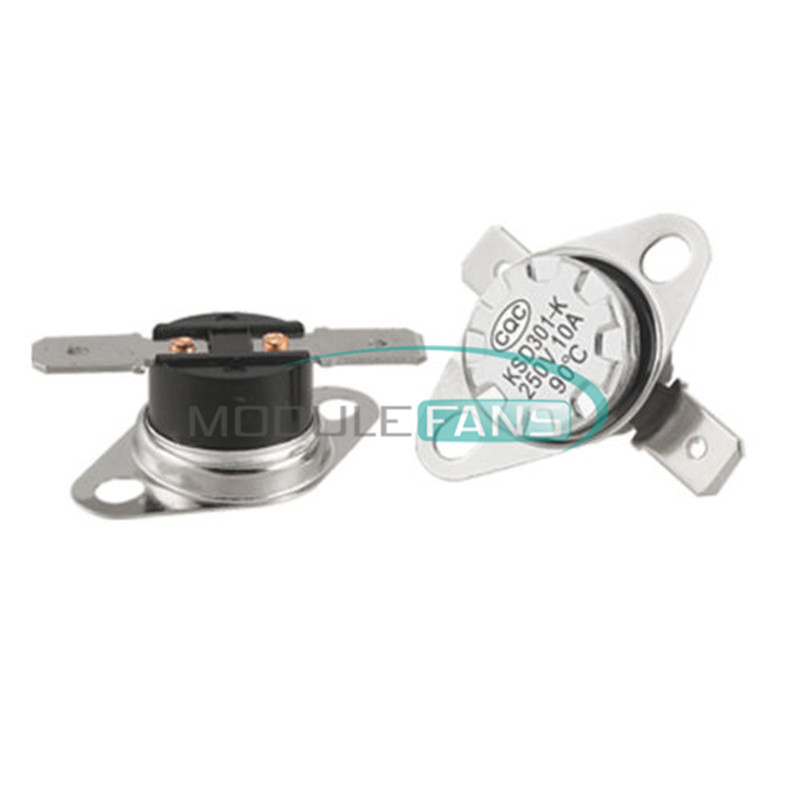 Temperature Switch Thermostat 10A 250V 104°F Degree Celsius N.O KSD301 40°C