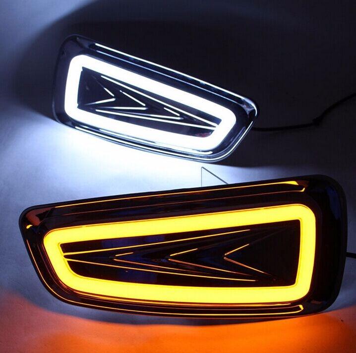 Daytime Running Light Turn Signal Lamp for Ford Raptor F150 2010-2014 2x LED DRL