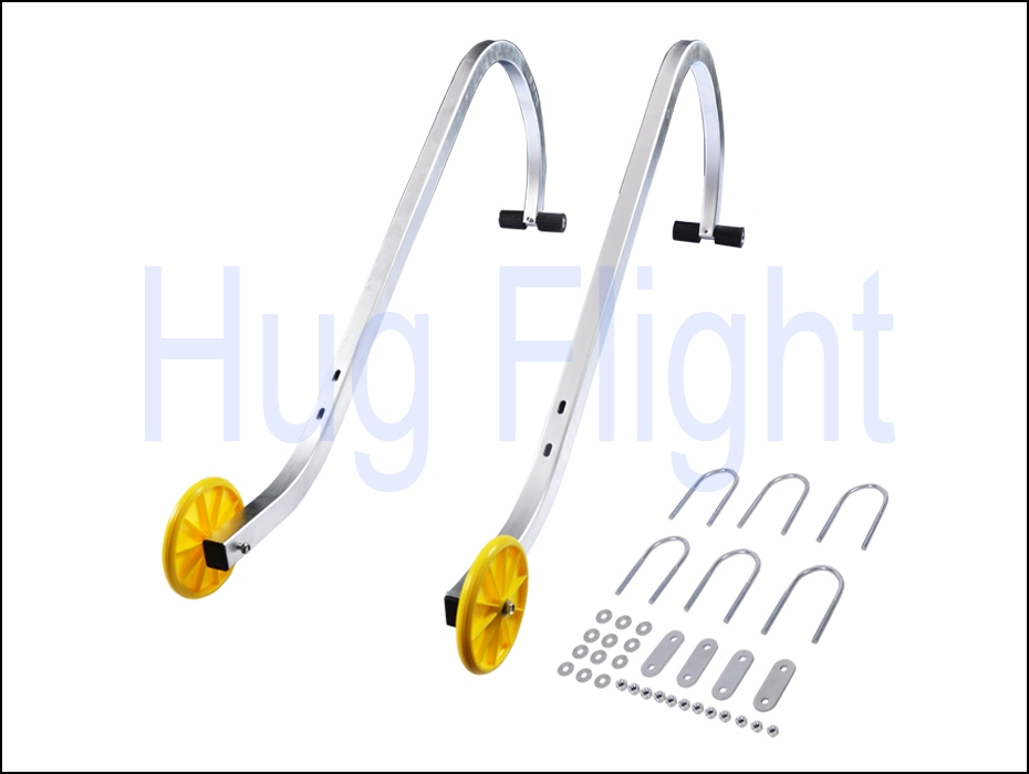 Roof Hook Kit Extension Ladder Universal Fit Wheels