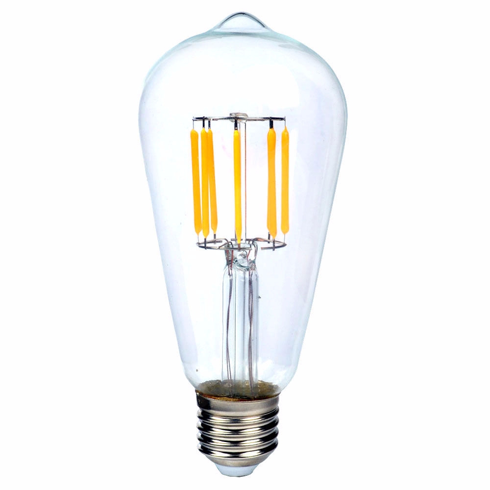edison led gl hlampe gl hbirne e27 4w 8w vintage retro filament fadenlampe bulb ebay. Black Bedroom Furniture Sets. Home Design Ideas