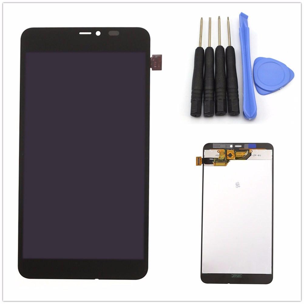 Ecran lcd vitre tactile bloc assemble complet pour for Photo ecran lumia 640