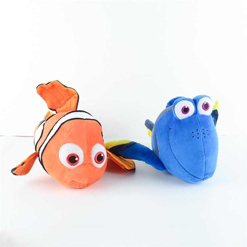 Finding Nemo Toys : Finding nemo plush toys and dory fish stuffed doll