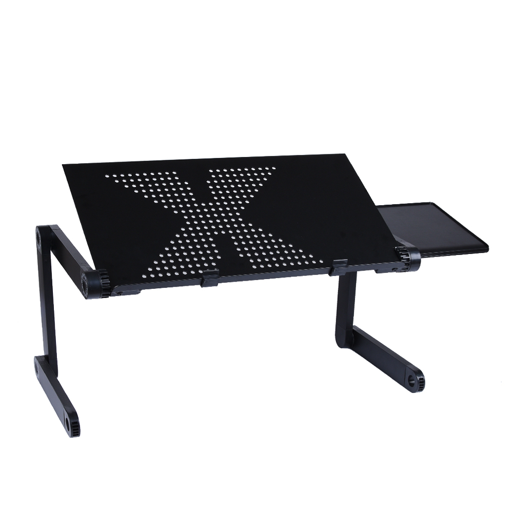 Adjustable Laptop Desk Portable Folding Computer Table Stand Tray For Bed Sofa Ebay