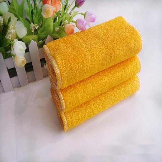 Microfiber Dish Rags: 23cmx18cm Microfiber Dishcloths Kitchen Towels Bamboo