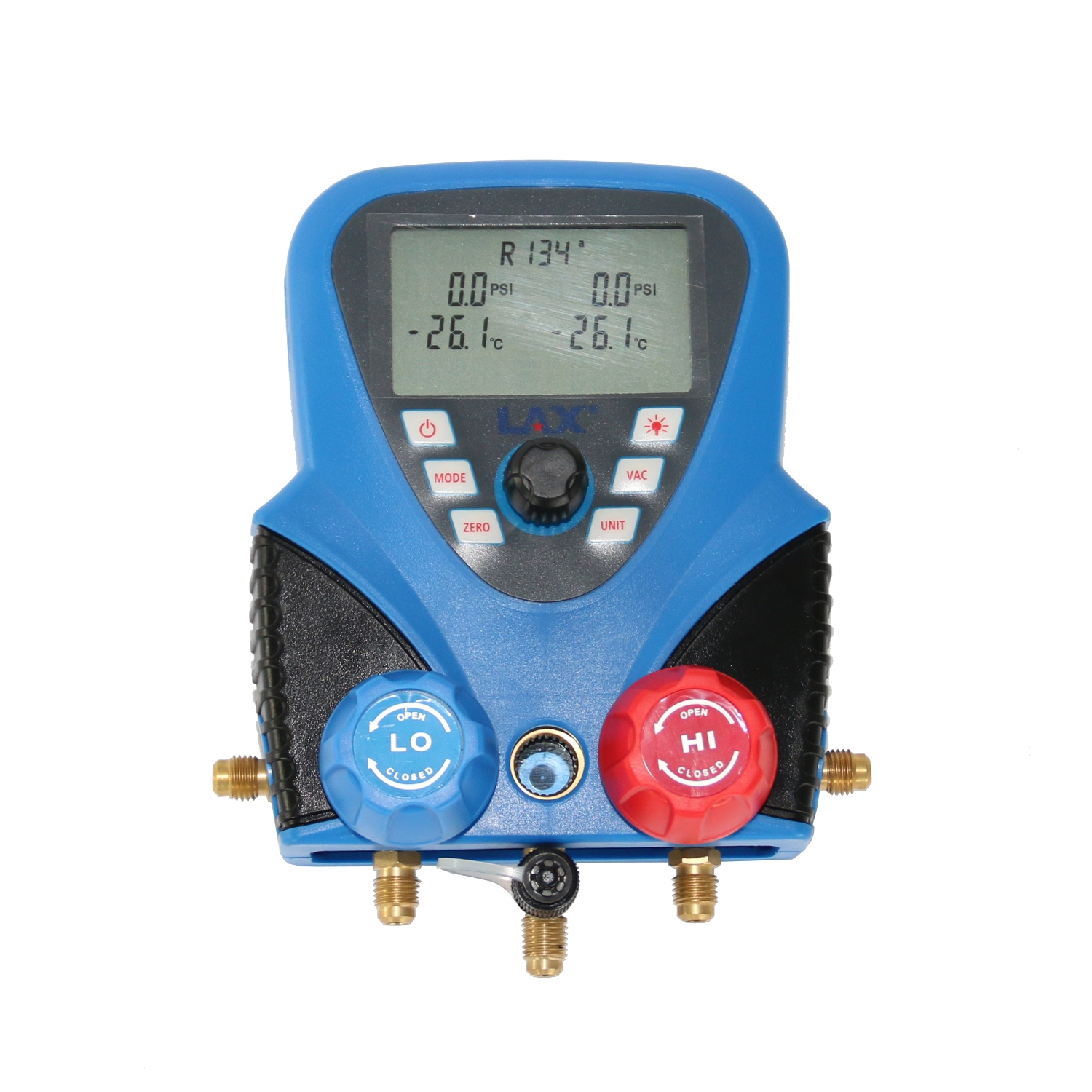 Electrical Wire Gauge Measuring Tool Digital Manifold: Refrigeration Air Conditioning AC Digital Diagnostic