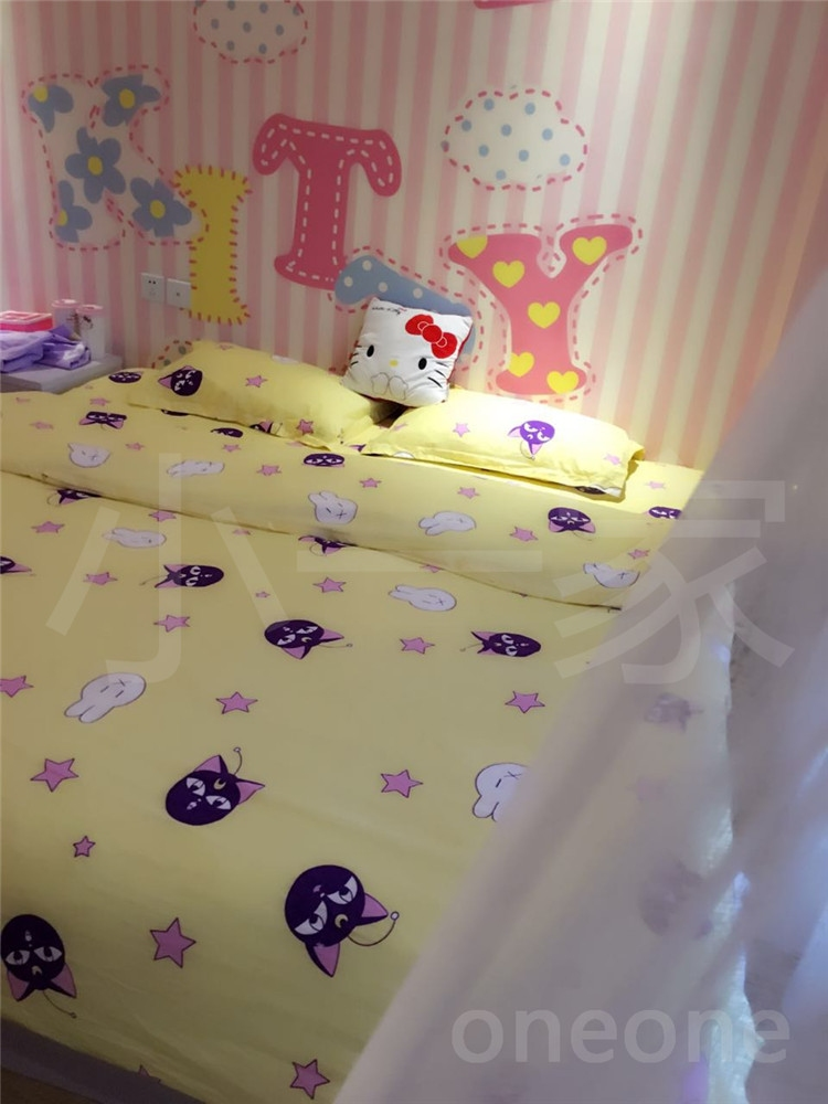 Sailor Moon Queen Size Bed Sheets