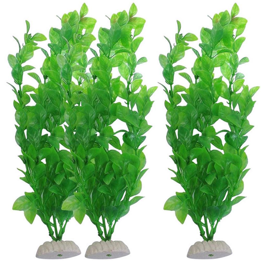 Long plastic grass aquarium water ornament simulation for Aquarium decoration uk