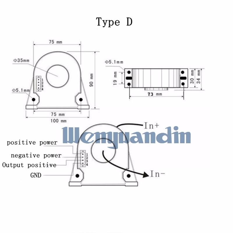 ac current sensor current transducer ac0 0 0