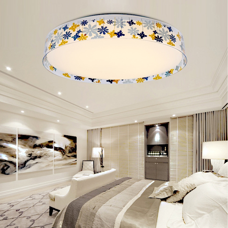 led warmwei deckenleuchte schlafzimmer design flutlicht deckenlampe wandlampe ebay. Black Bedroom Furniture Sets. Home Design Ideas