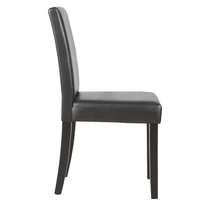 Belleze Elegant Kitchen Dinette Dining Room Chair Design: 4 Pcs Leather Dining Room Chairs Elegant Design Backrest
