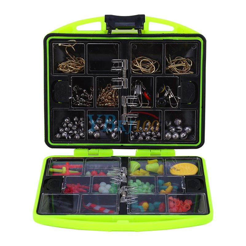 24 compartments fishing tackle box full loaded lure bait for Fishing bait box