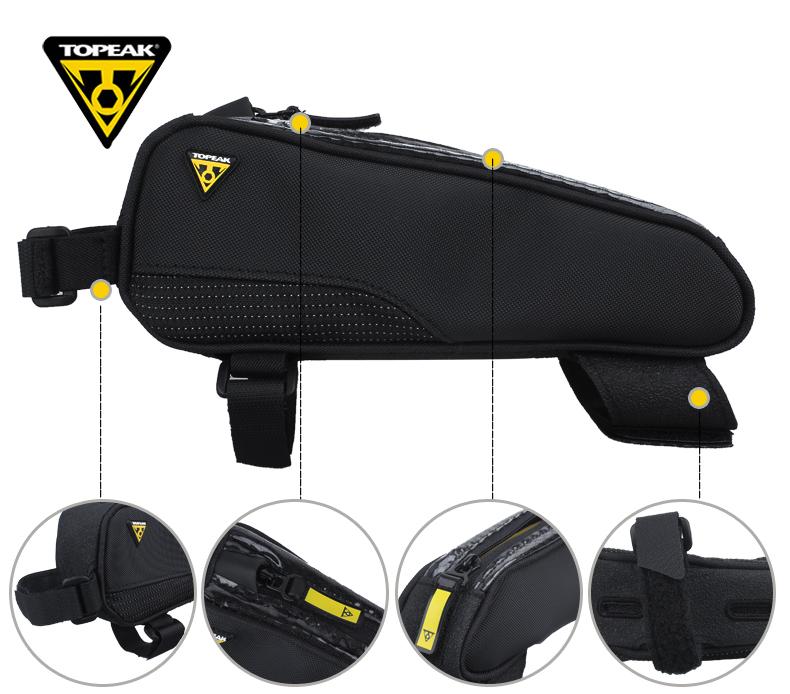 Topeak Fastfuel Tribag Top Tube Bag Tc2301b 4712511836394
