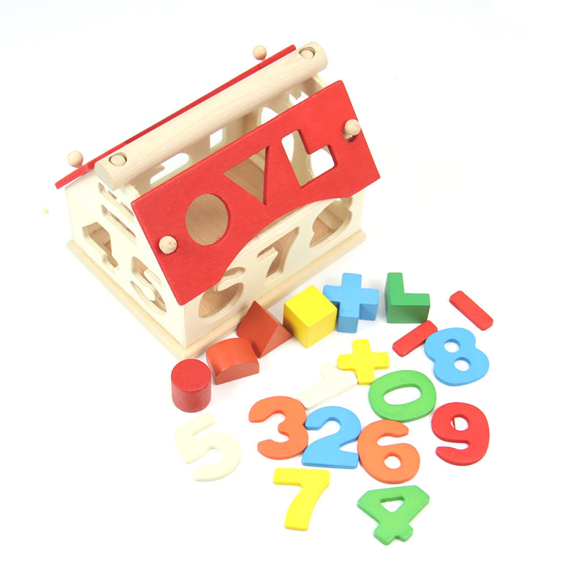 kids baby boys girls play games wooden digital number. Black Bedroom Furniture Sets. Home Design Ideas