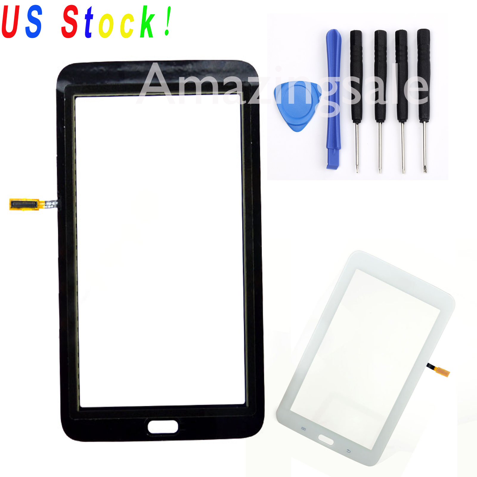 white for samsung galaxy tab 3 lite sm t110 7 0 touch screen digitizer parts us ebay. Black Bedroom Furniture Sets. Home Design Ideas