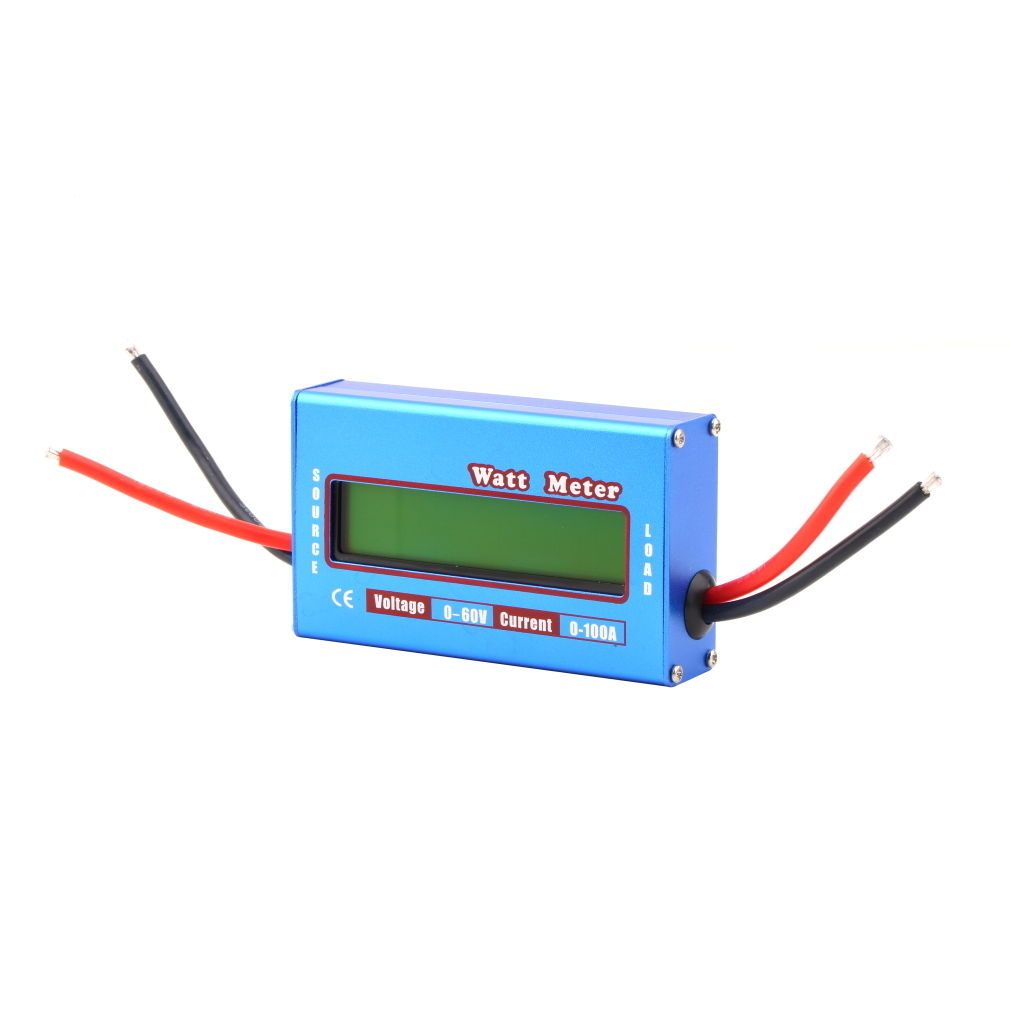 100A 60V DC RC Airplane Helicopter Battery Power Analyzer