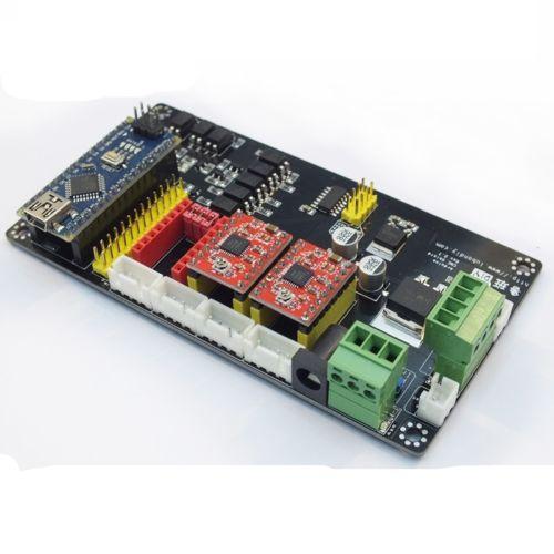 3 axis usb cnc controller a4988 stepper motor driver board for Stepper motor controller board