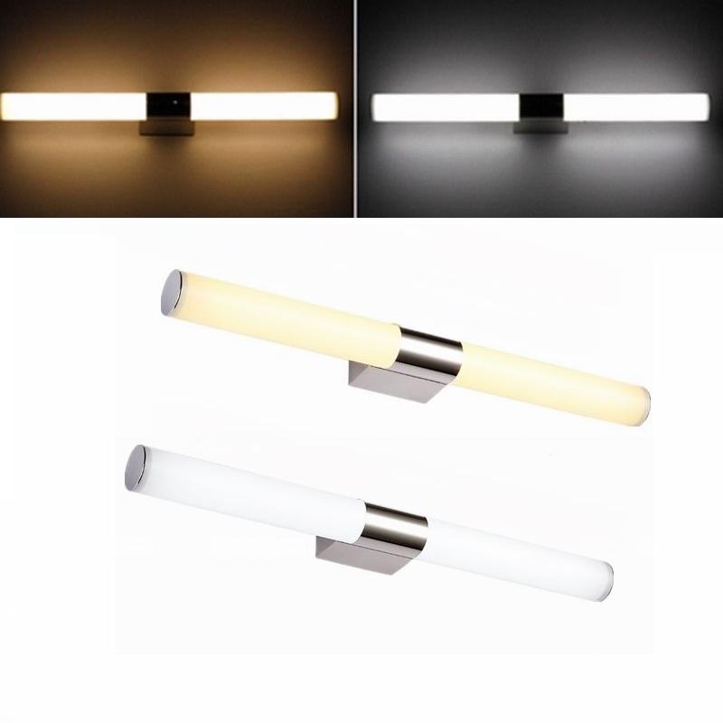 8w 24w lampada da specchio luce a led lampade da parete faretto bagno arredo ebay - Lampada specchio bagno led ...