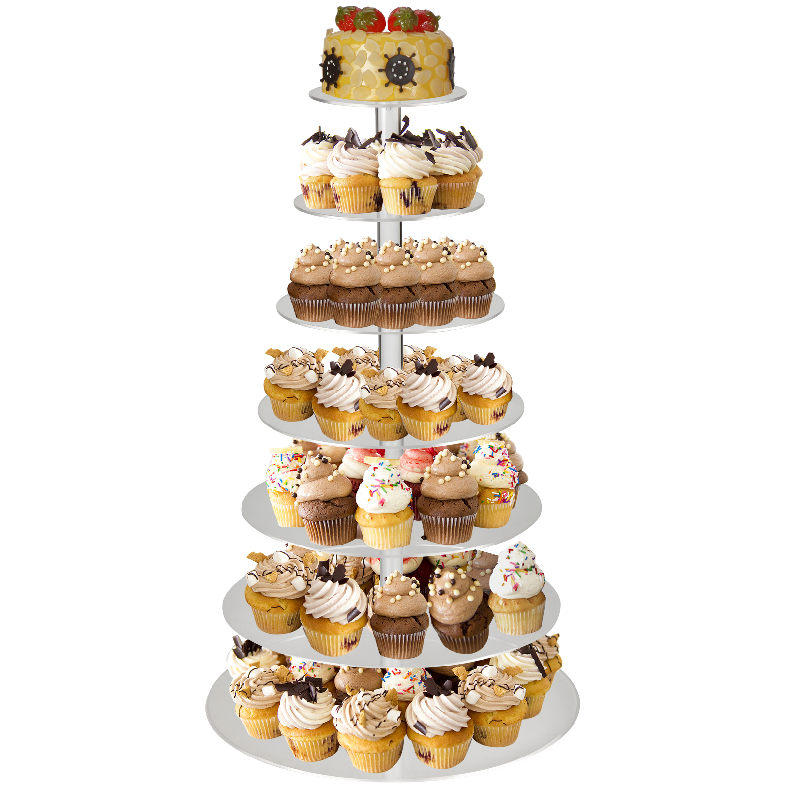 tier wedding cake stand 7 tier clear acrylic cupcake birthday wedding cake 7990