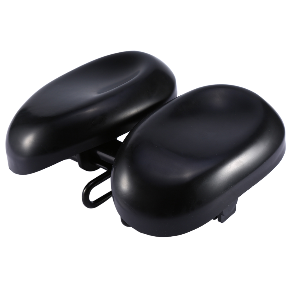 Extra Bike Seat : New comfort extra wide mtb bike bicycle cycling dual pad