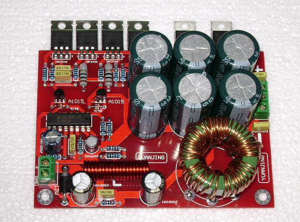 Dc12v To Dual 32v  U00b132vdc Boost Power Supply Board 180w For