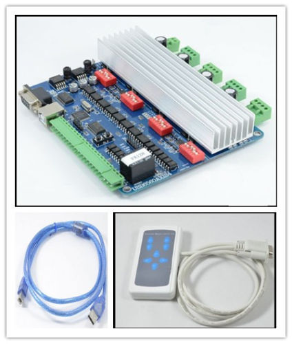 4 axis tb6560 usb cnc nema23 3 0a stepper motor usb driver for 4 axis stepper motor controller
