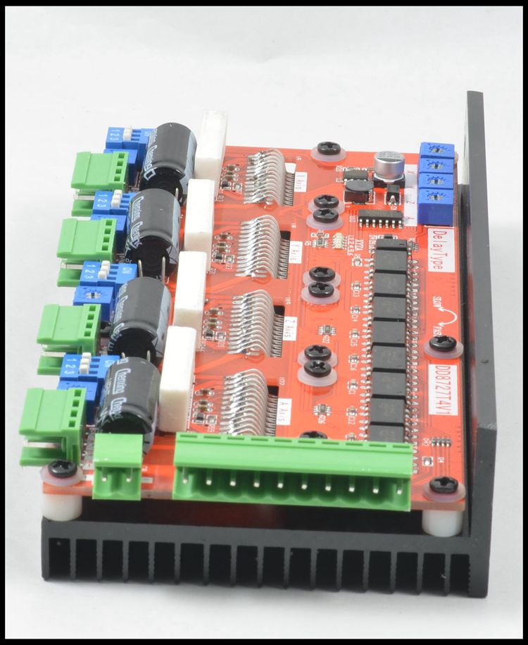 4 axis lv8727 4a stepper motor driver controller 1mhz cnc for 4 axis stepper motor controller