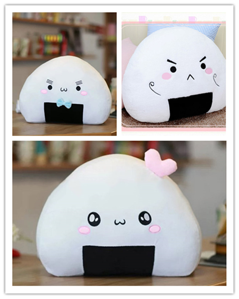 Cushion Pillow Toys Japanese Sushi Dumpling New Cute Stuffed Plush Kawaii Ball