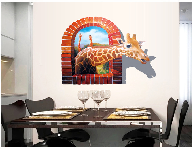 3d wall stickers decors art decal for home kids room decoration
