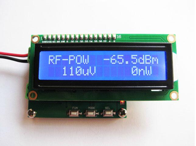 Radio Frequency Power Meter : Rf power meter range ghz radio frequency