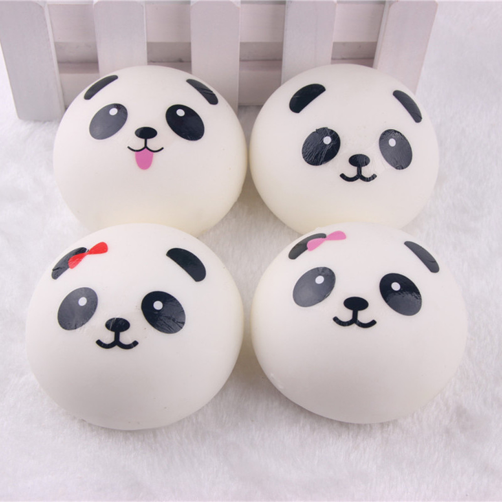 MS 10cm 2Pcs/Set Cute Kawaii Jumbo Squishy Panda Bread Bun Fun Phone Charm Toy eBay