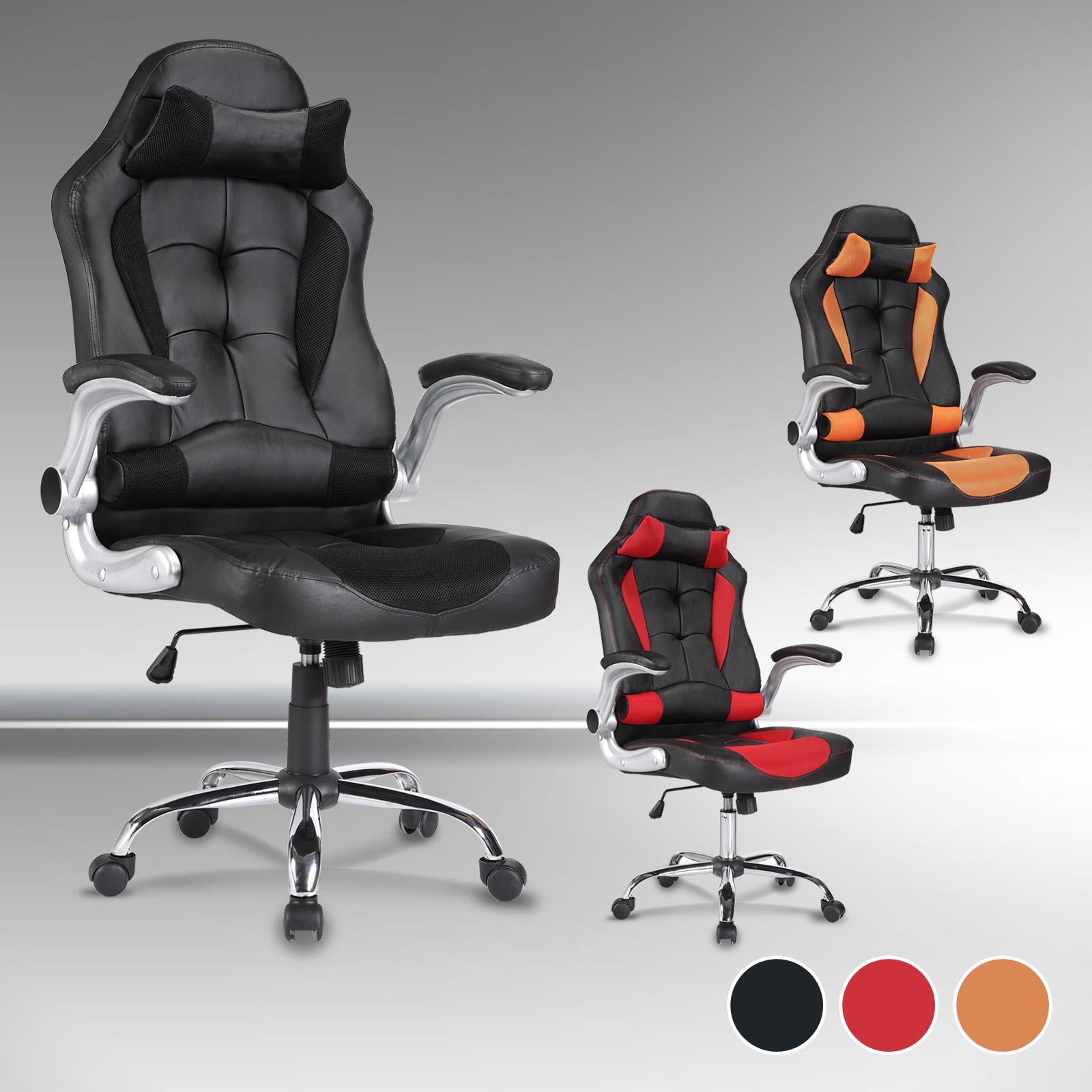 uenjoy gaming stuhl racing stuh b rostuhl chefsessel drehstuhl computer stuhl ebay. Black Bedroom Furniture Sets. Home Design Ideas