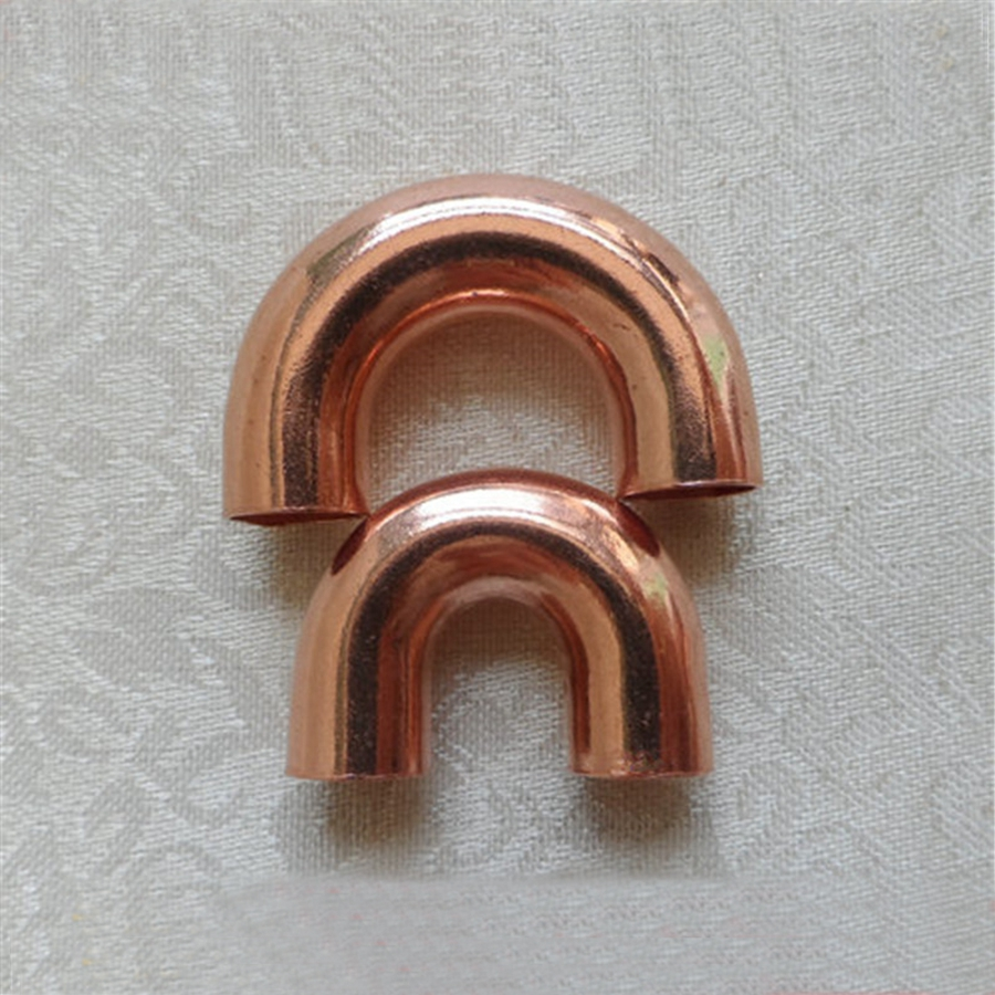 Multiple 180 Degree Return Bend Copper Weld Pipe Fitting